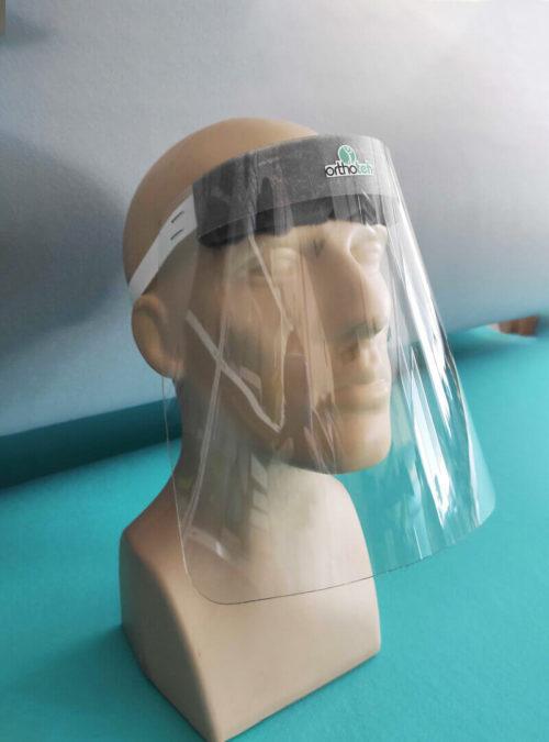 Olekoten predpazen shlem za lice za mnogokratna upotreba Orthoteh 192022 2
