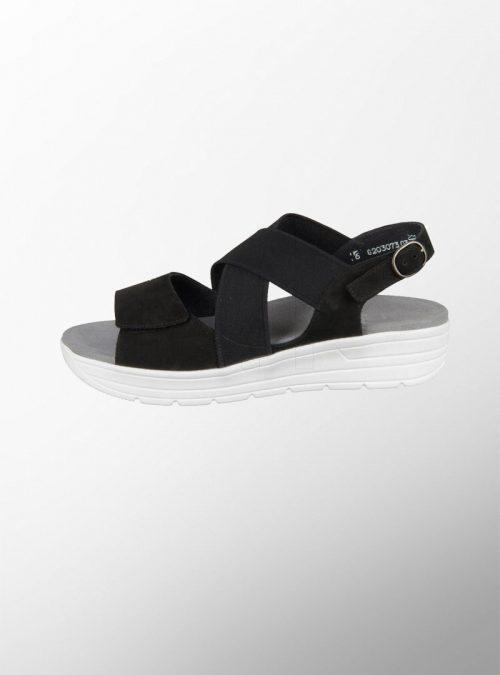 Damski ortopedichni sandali Greta Black Solidus 2