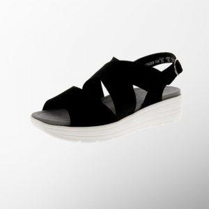 Damski ortopedichni sandali Greta Black Solidus