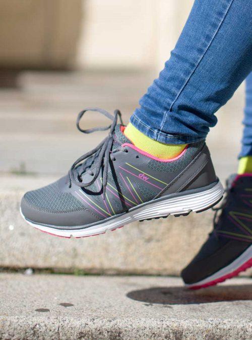 Ортопедични обувки | Дамски ортопедични маратонки Cloudy Orchid – Diawin 07 | ОРТОТЕХ