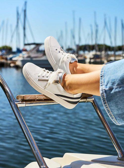 Ортопедични обувки | Дамски ортопедични маратонки Hazel Solidus 02 | ОРТОТЕХ