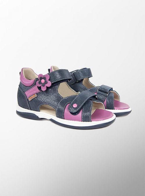 Ортопедични обувки | Детски ортопедични сандали Kristina Violet – Memo | ОРТОТЕХ