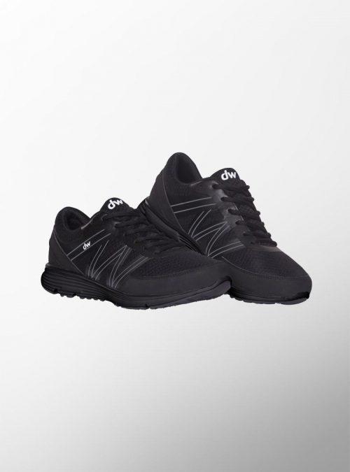 Ортопедични обувки | Дамски ортопедични маратонки Refreshing Black – Diawin 02 | ОРТОТЕХ
