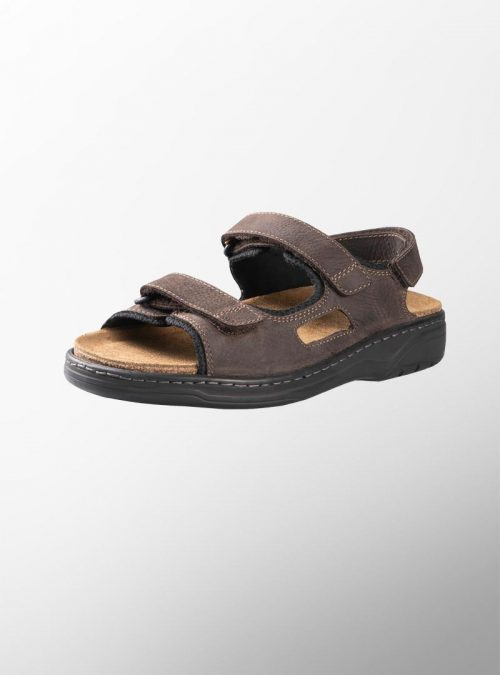 Ортопедични обувки   Мъжки ортопедични сандали Mash Dark Brown – Solidus   ОРТОТЕХ